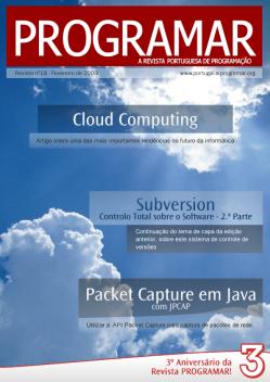 Revista PROGRAMAR: 18ª Edição - Fevereiro 2009