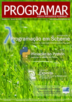 Revista PROGRAMAR: 6ª Edição - Janeiro 2007